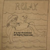 Relax P is for Primitive Pattern