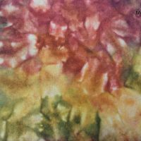 Monet's Garden Hand Dyed Wool