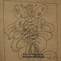 Queen Bee P is for Primitive Pattern