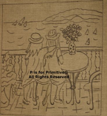 Sisters P is for Primitive Pattern