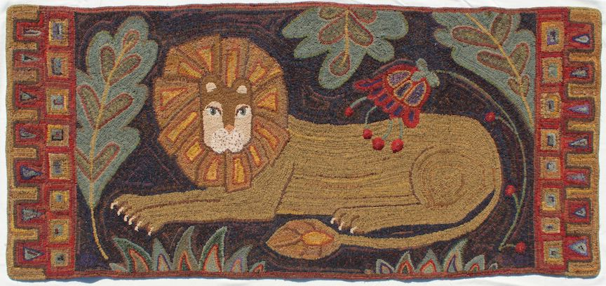 My Lion Small, pattern by Primitive